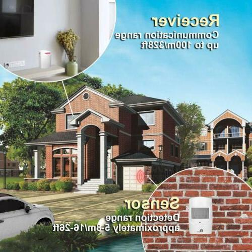 1byone Wireless Home Security Driveway