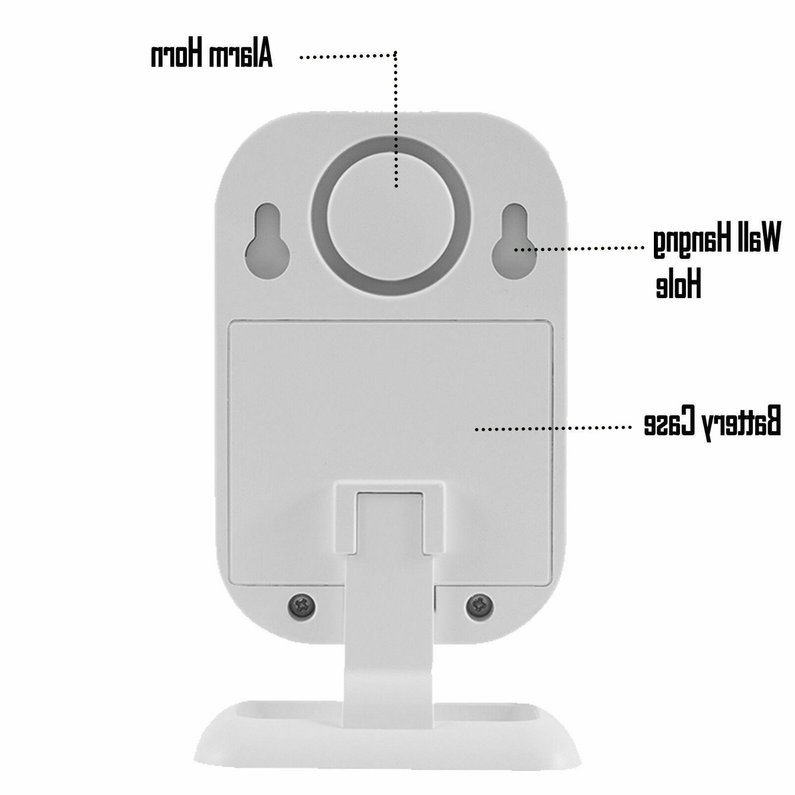 Wireless Motion Sensor Gate Entry Welcome Bell Alarm