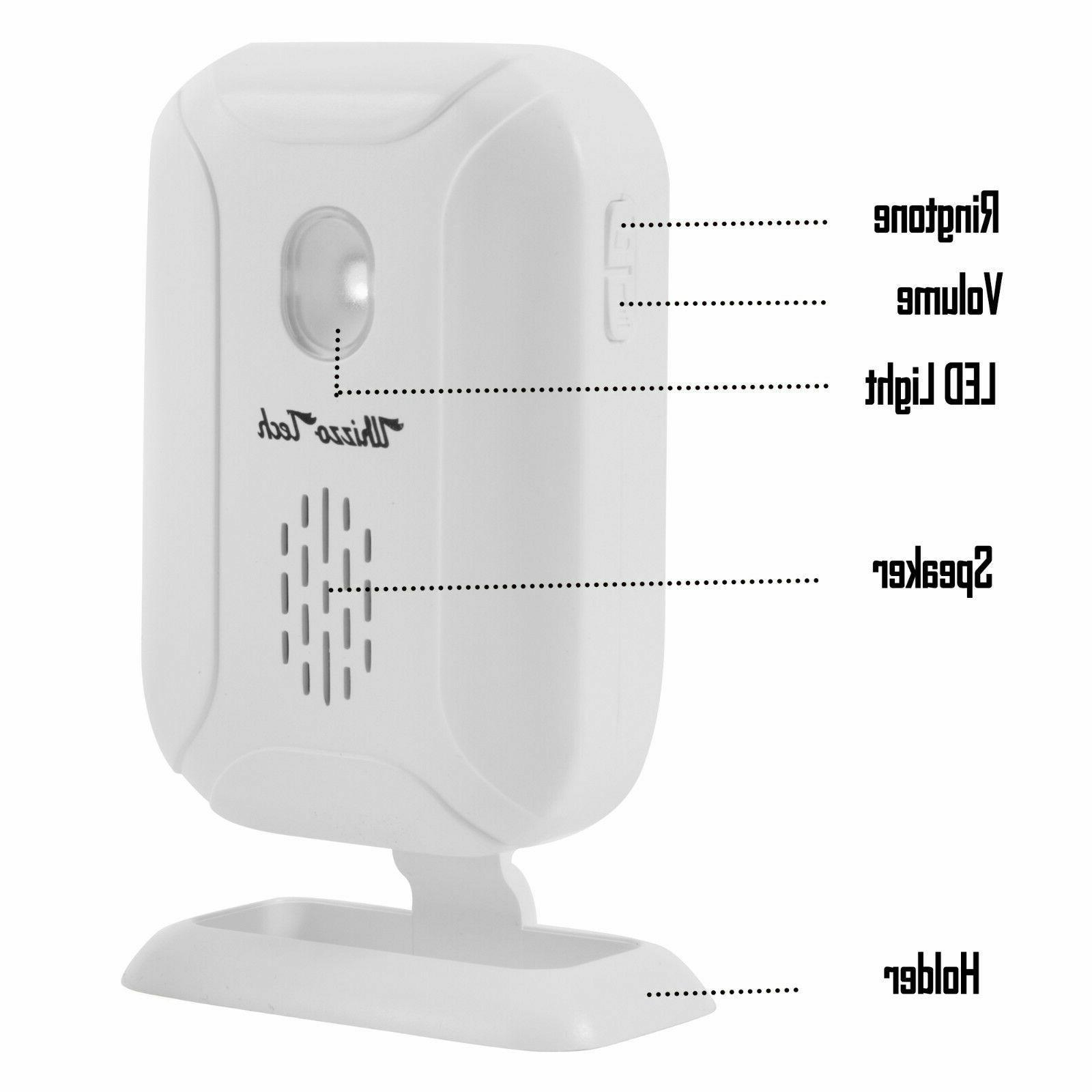 Wireless Motion Gate Entry Bell Chime Alert