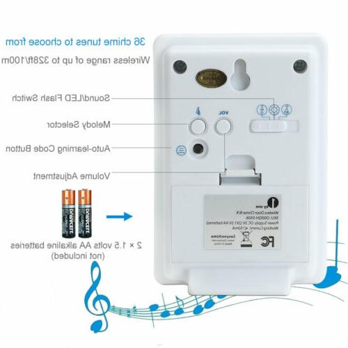 1byone Wireless Motion 36 Chime for 500ft