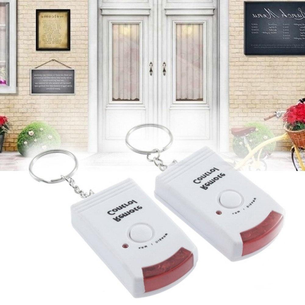 Wireless Remote Controlled <font><b>Alarm</b></font> with <font><b>Motion</b></font> Detector & 105dB Siren Home <font><b>Security</b></font> Anti-Theft