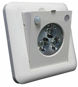 Morris Products LED Motion Sensor 3-Light Emergency Light
