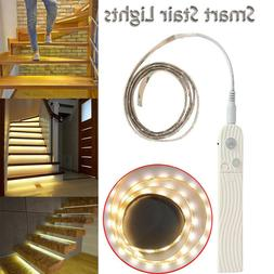 LED PIR Motion Sensor Strip Light Wireless Battery Operated