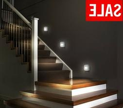 LED Stair Hallway Lights Motion Sensor Night Lamp Wireless B