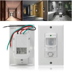 Lot Auto On/Off Infrared PIR Occupancy Vacancy Motion Sensor