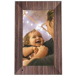 NIX Lux Digital Photo Frame 13.3 inch X13B, Wood. Electronic