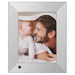 NIX Lux Digital Photo Frame 8 inch X08F, Metal. Electronic P