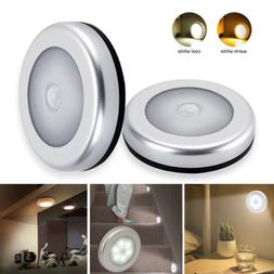 Motion Activated Cordless Sensor LED Light Indoor Outdoor Ga