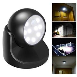 LED Motion Activated Cordless Sensor Light Outdoor Indoor Garden Wall Patio Shed
