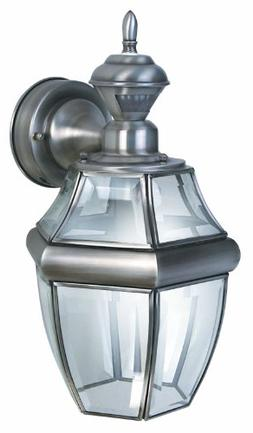 150Degree Motion Activated SixSided Carriage Light in Silver