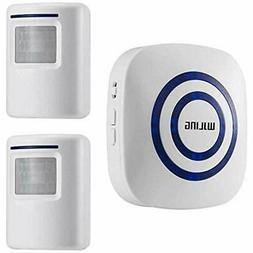 WJLING Motion Security Sensors Sensor Alarm, Wireless Home D