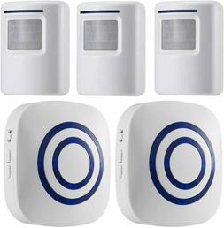 Motion Sensor Alarm System, Wireless Home Security Driveway