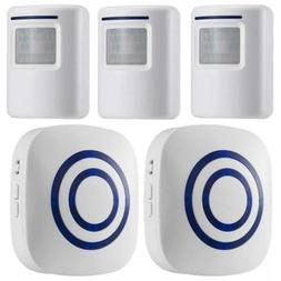 WJLING Motion Sensor Alarm, Wireless Driveway Home Security
