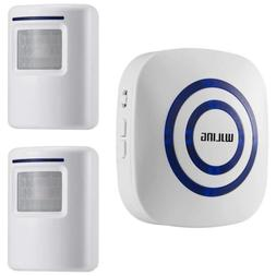 WJLING Motion Sensor Alarm, Wireless Home Security Driveway,