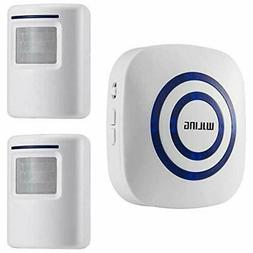 WJLING Motion Sensor Alarm, Wireless Home Security Driveway