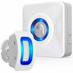 Motion Sensor Door Chime for Business Wireless Security Driv