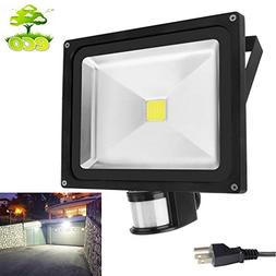 Motion Sensor Led Flood Lights 50w 4000LM Outdoor Security F