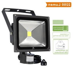 CLY 30W LED Motion Sensor Floodlight Outdoor Super Bright 27