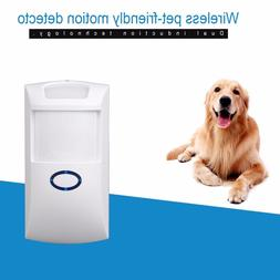 NEW 433 MHz 868.4MHZ Wireless Pet Immune PIR <font><b>Motion