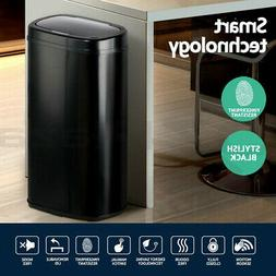 NEW 58L Black Motion Sensor Bin Waste Rubbish Trash Can Auto