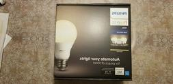 NEW Philips Hue White Wi-Fi Smart LED Bulbs - 4 Pack and H