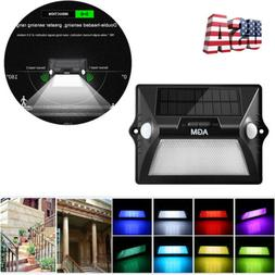 AGM Outdoor Color Changing  LED Solar Power Light- Motion &
