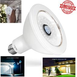 Outdoor Motion Sensor Light Bulb Socket LED Indoor Pir Infra