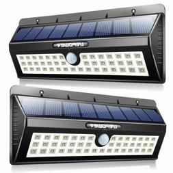 Outdoor Solar Energy Lights Motion Sensors Security Yards Pa