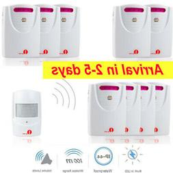 outdoor wireless motion alert alarm security system