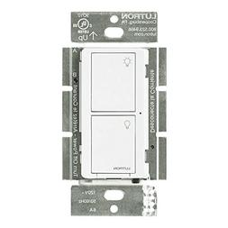 Lutron PD-5WS-DV-WH, Wireless in-Wall Switch, White