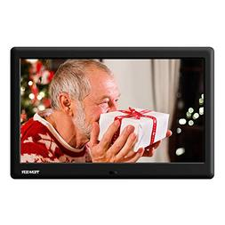 TENKER  10-inch HD Digital Photo Frame with Auto-Rotate/Cale