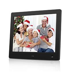 NASICOUR Digital Picture Frame 8 Inch Motion Sensor Multifun