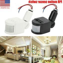 PIR Infrared Motion Sensor Detector Switch LED Security Outd
