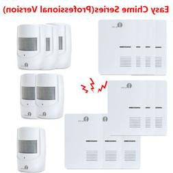 1byone Plug Doorbell Button Outdoor Wireless Driveway Alarm