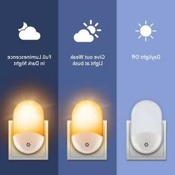 Plug in Wireless Home Motion Sensor LED Night Light Sconce L