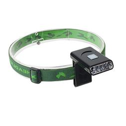 uxcell Rechargeable LED Headlamp Flashlight with Motion Sens