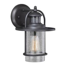 Rubbed Bronze Outdoor Wall Light Motion Sensor Security Exte