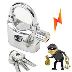 Security Anti Theft Alarm Lock Motion Sensor Padlock Waterpr
