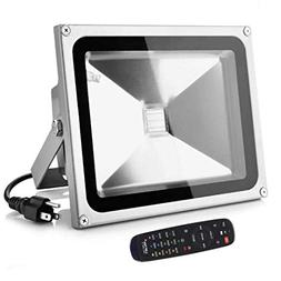 LOFTEK Proto 50W RGB LED Flood Lights, Outdoor Color Changin