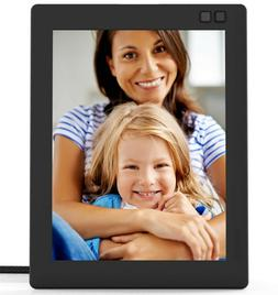 Nixplay Seed 8 Inch Digital WiFi Photo Frame W08D Black - Di