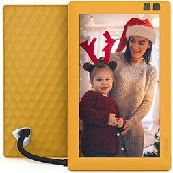 Nixplay Seed 7 inch WiFi Digital Photo Frame - Mango