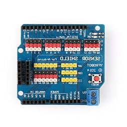 Areyourshop Sensor Shield Expansion Board Shield For Arduino