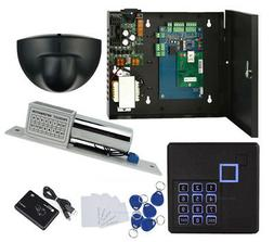 Single Door Access Control System Kit Keypad Reader+Exit Mot