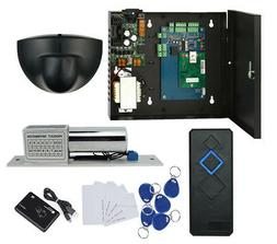 Single Door RFID Access Control System Kit Exit Motion Senso