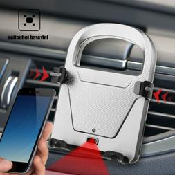 Smart Automatic Car Phone Holder USB IR Infrared Motion Sens
