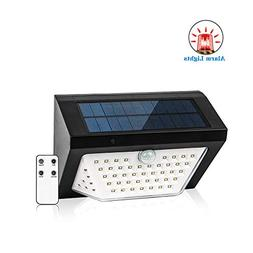 SZMiNiLED LED Solar Lights Outdoor with Antitheft Alarm Ligh