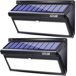 BAXIA Technology Solar Lights Outdoor, Wireless 100 LED Sola