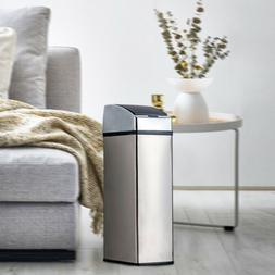 Stainless Steel Touch Free Sensor Trash Can Handfree Motion