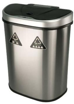Stainless Steel Touchless Trash Can 18.5 Gallon Motion Senso