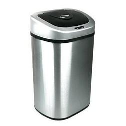 Stainless Trash Can Steel Garbage Touchless Sensor Automatic